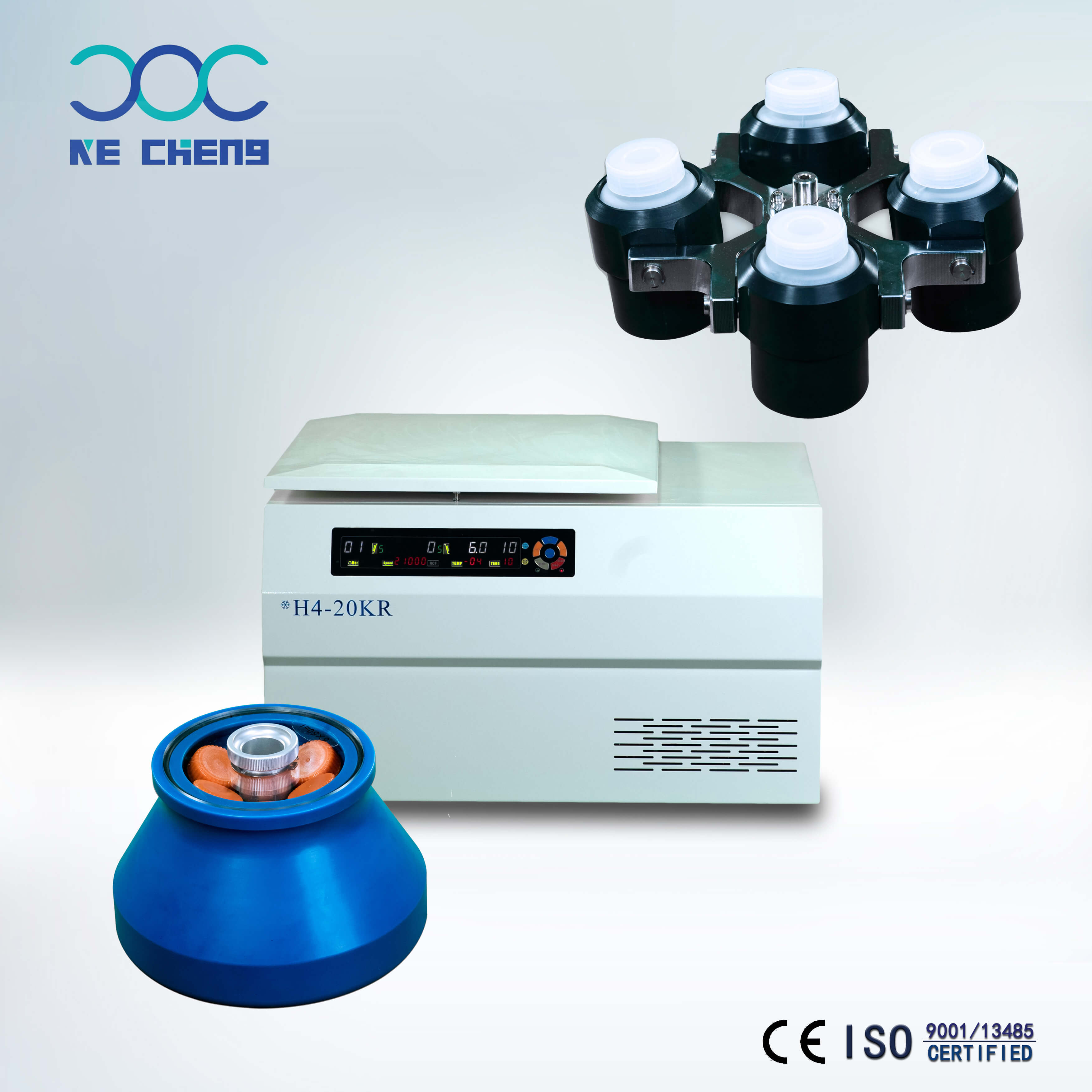 H4-20KR/H4-25KR/H4-30KR high speed refrigerated centrifuge
