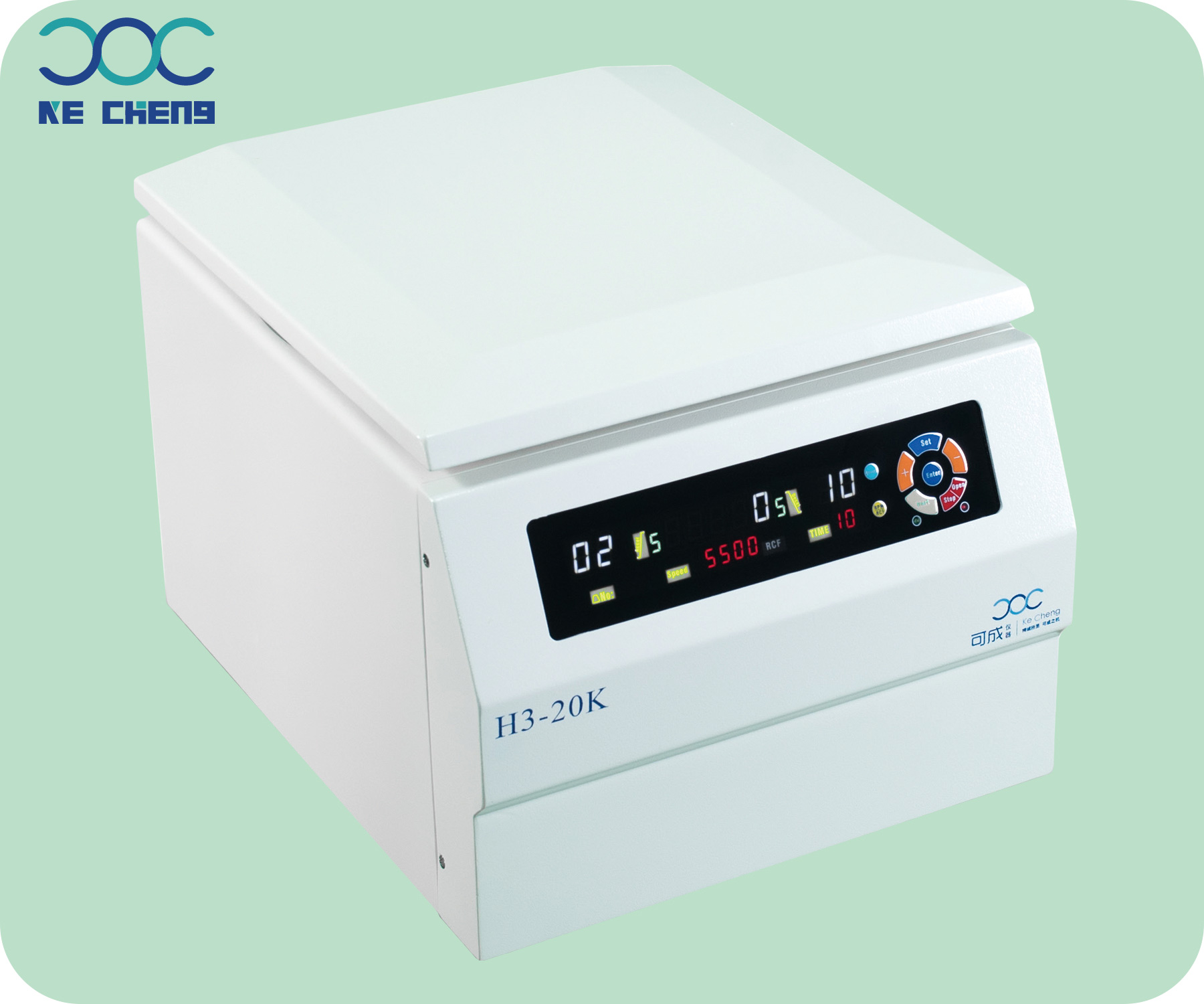 H3-20K Benchtop High Speed Centrifuge